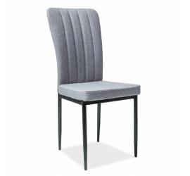 Kėdė pilka/juoda